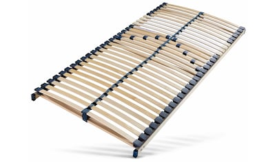 Breckle Lattenrost »Manao Fix 30 Leisten«, 30 Leisten, Kopfteil nicht verstellbar, Komfort - langlebig, individuelle Härteinstellung, 7- Zonen Lattenrost, Made in Germany kaufen