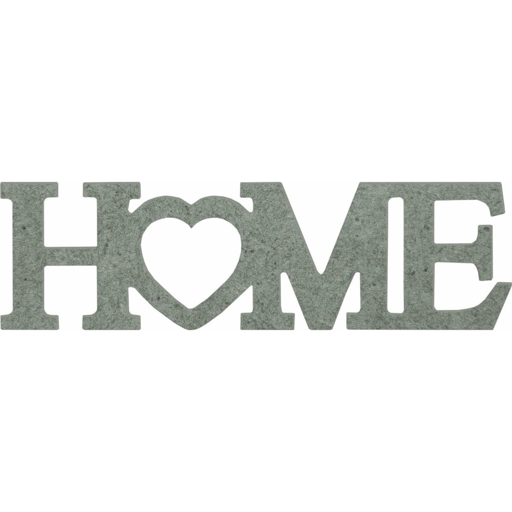 Wall-Art Dekoobjekt »Home mit Herz«, 52/15 cm