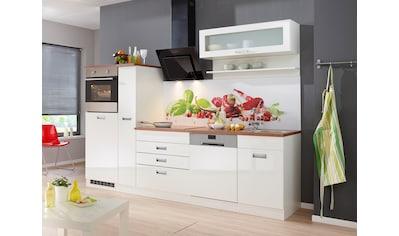 HELD MÖBEL Küchenzeile »Fulda«, mit E - Geräten, Breite 280 cm kaufen