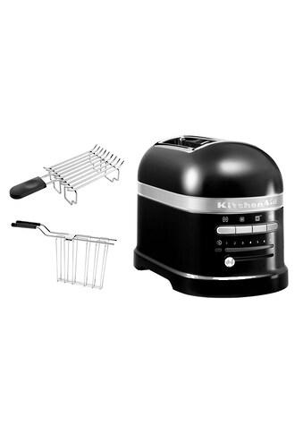 KitchenAid Toaster »Artisan 5KMT2204EOB«, 2 kurze Schlitze, für 2 Scheiben, 1250 W kaufen