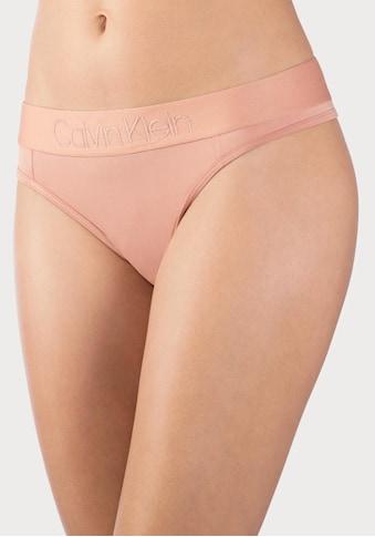 Calvin Klein String »TONAL LOGO«, mit farblich passendem Logobündchen kaufen
