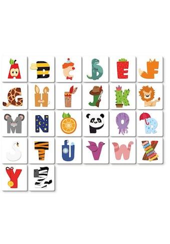 Wall - Art Deko - Buchstaben »Lernbuchstaben Kinderzimmer 15cm« (1 Stück) kaufen