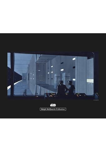 Komar Poster »Star Wars Classic RMQ Death Star Control«, Star Wars kaufen