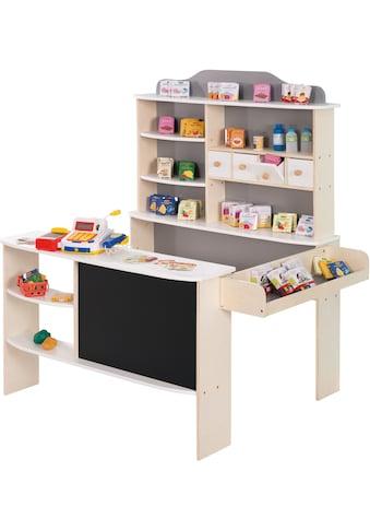 roba® Kaufladen »Verkaufsstand weiß/grau«, inklusive Kaufladenzubehör kaufen
