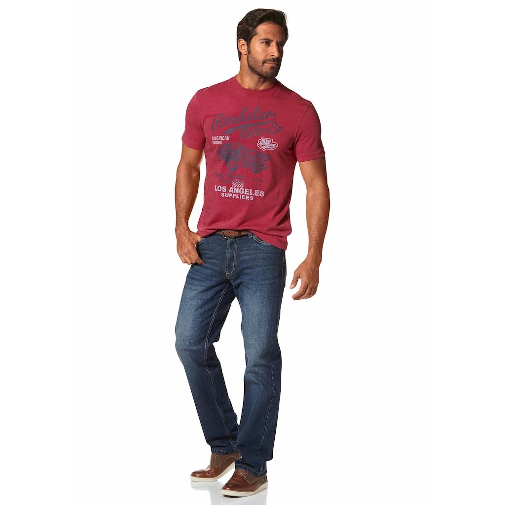 Arizona T-Shirt, mit Print in Vintage Optik