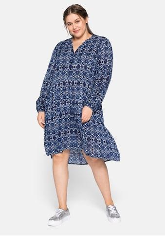 Sheego Blusenkleid, mit Stufen kaufen