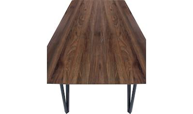 my home Essgruppe »Marla«, (Set, 5 tlg., Essgruppe 5-tlg.), Tischbreite 120 cm geeignet für kleine Räume kaufen