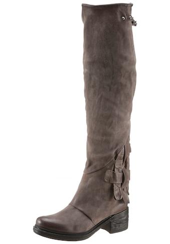 A.S.98 Stiefel »NOVA17«, mit modischen Durchzügen kaufen