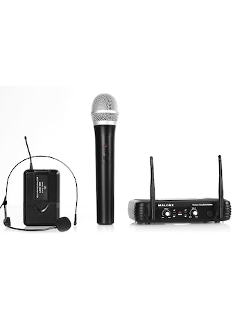 Malone UHF Funkmikrofon Set 2 Kanal »UHF 250 Duo« kaufen