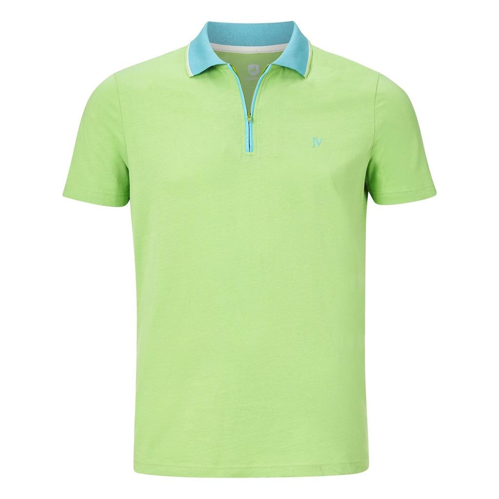 Jan Vanderstorm Poloshirt »LEX«, in luftiger Baumwollqualität