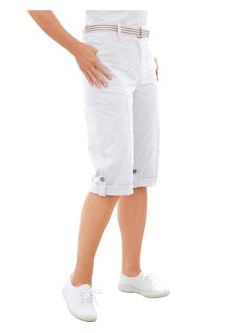 Casual Looks Capri - Hose mit figurfreundlicher Teilungsnaht vorne kaufen