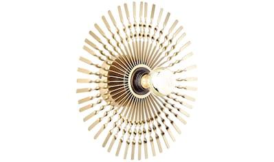 Brilliant Leuchten Wandleuchte, E27, Mendoza Wandleuchte 33cm gold kaufen
