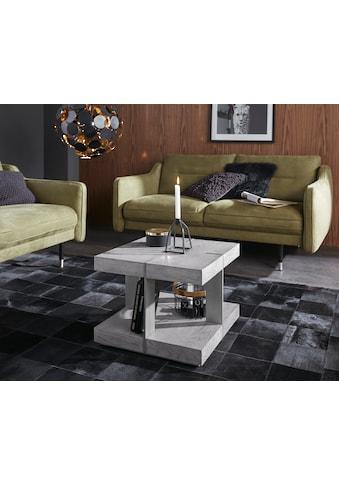 Places of Style Couchtisch »Verrazzano«, in unterschiedlichen Farben und Größen erhältlich, aus Holz und Metall gefertigt kaufen