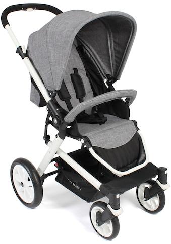 CHIC4BABY Sport-Kinderwagen »Boomer, Melange Grau«, 15 kg kaufen