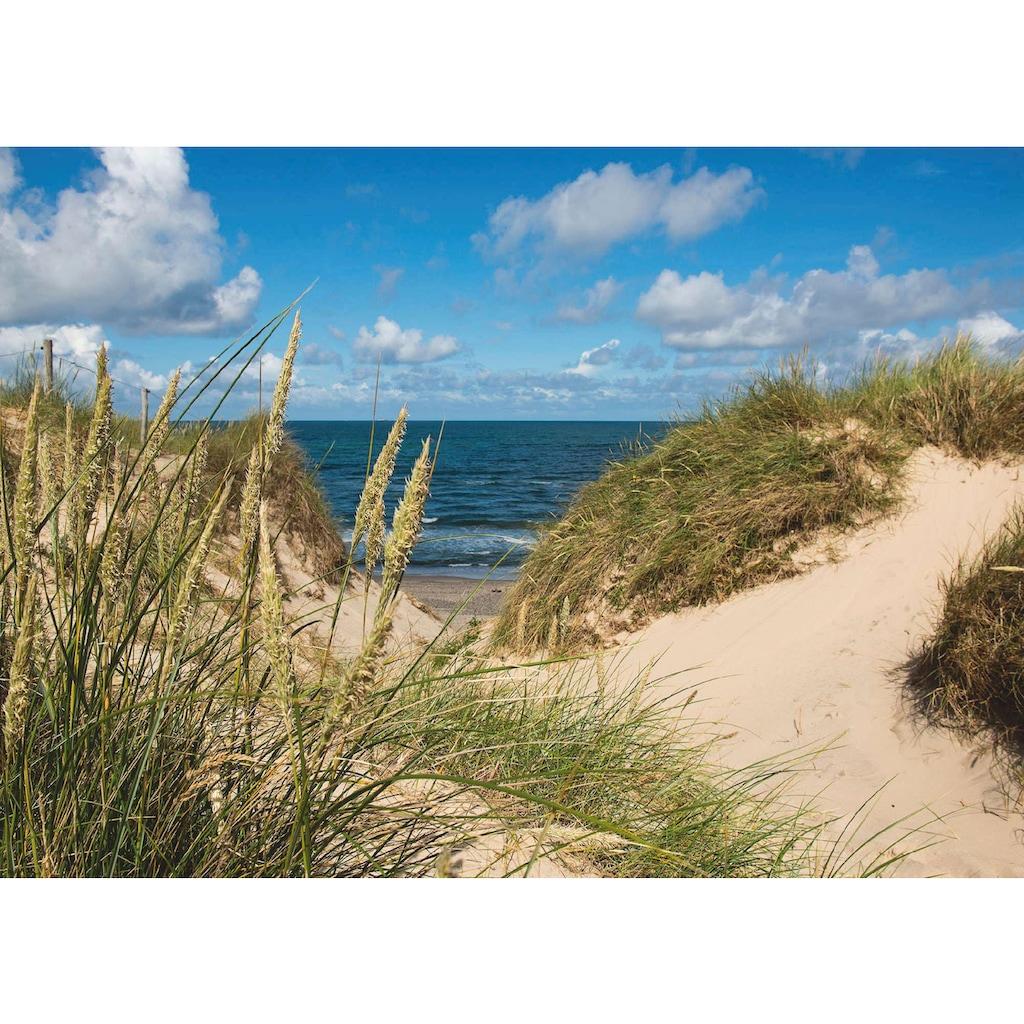 Home affaire Leinwandbild »John Stick: Dänemark, Bad, Vesterhav«, 70/50 cm