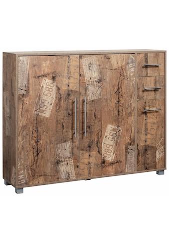 Schildmeyer Schuhschrank »Pisa«, mit 3 Türen und 2 Schubkästen kaufen