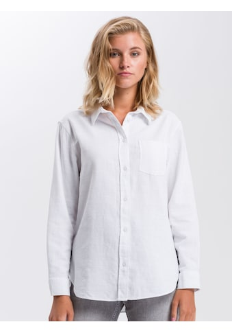 Cross Jeans® Hemdbluse »75249«, Feminine Hemdbluse kaufen