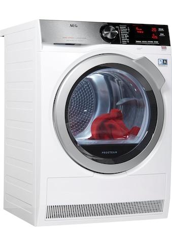 AEG Wärmepumpentrockner »T8DE88595D«, AbsoluteCare für Wolle, Seide, Outdoor kaufen