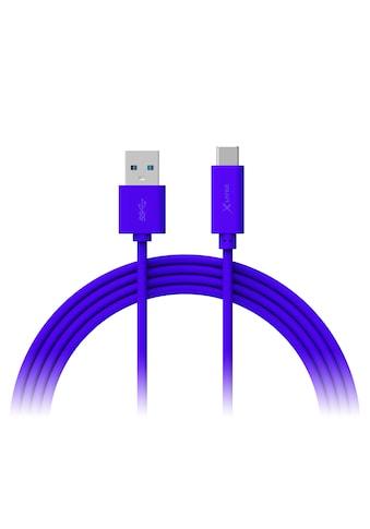 XLAYER Kabel »Colour Line Typ C (USB - C) to USB 3.0 1m Blue« kaufen