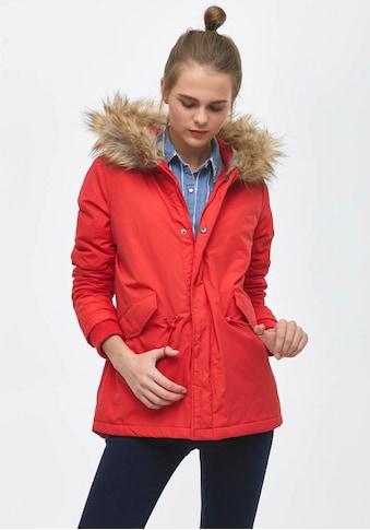 LTB Outdoorjacke »JEYORO«, mit modischem Fake-Fur Kragen an der Kapuze kaufen