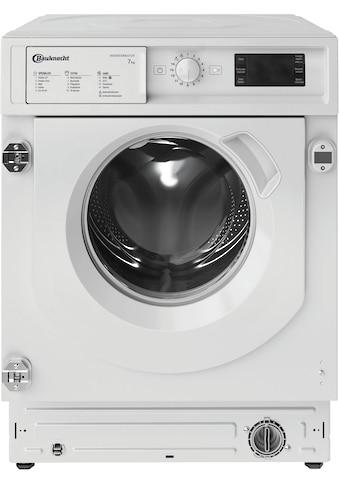 BAUKNECHT Einbauwaschmaschine »BI WMBG 71483E DE N«, BI WMBG 71483E DE N, 7 kg, 1400... kaufen