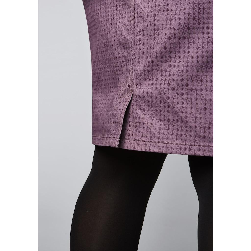 Sheego Bleistiftrock, aus elastischer Baumwoll-Qualität