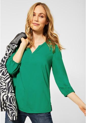 Cecil Klassische Bluse, aus seidiger Viskose kaufen