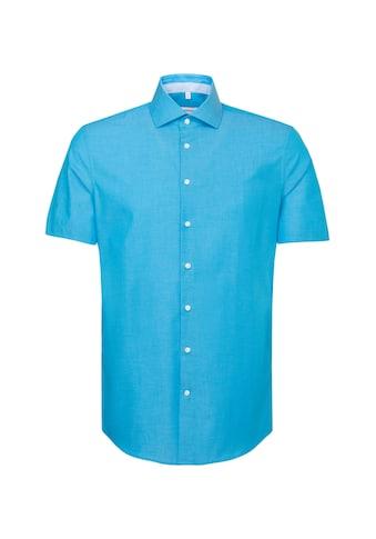 seidensticker Businesshemd »Shaped«, Shaped Kurzarm Kentkragen Uni kaufen