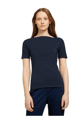 TOM TAILOR Denim T-Shirt, mit U-Boot Ausschnitt kaufen