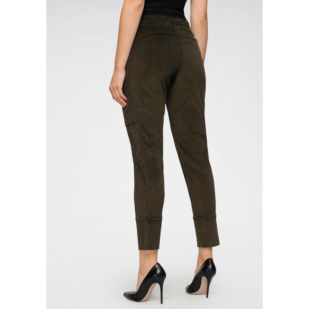 MAC Jogger Pants »Future-Pants«, Jop-Pants mit großen Reißverschluss -Taschen