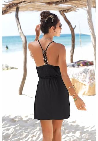LASCANA Strandkleid, mit Zierringen kaufen