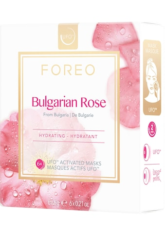 FOREO Tuchmaske »Bulgarian Rose«, (Packung), 6 x 6 g, kompatibel mit UFO & UFO mini kaufen