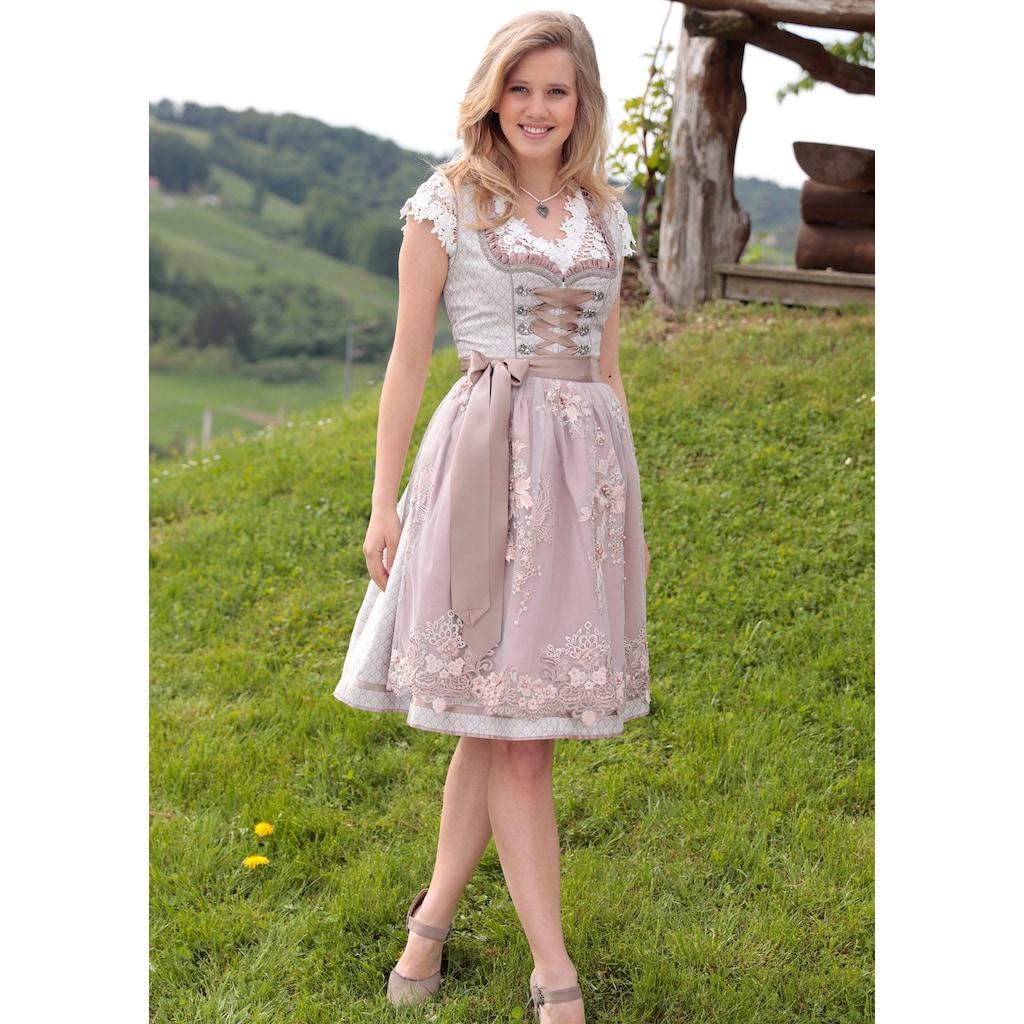 Krüger Madl Dirndl »Elva«, (2 tlg.), mit Perlenbesetzter Schürze