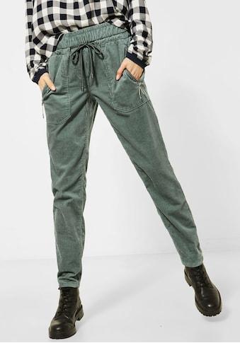 Cecil Jogger Pants »Tracey«, lässige Hose aus Cord kaufen
