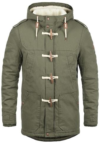 Solid Dufflecoat »Forster«, warme Jacke mit hochabschließendem Stehkragen kaufen