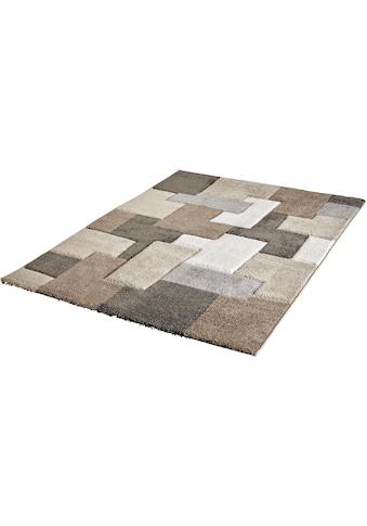 Obsession Teppich »My Acapulco 683«, rechteckig, 21 mm Höhe, handgearbeiteter Konturenschnitt, Wohnzimmer kaufen