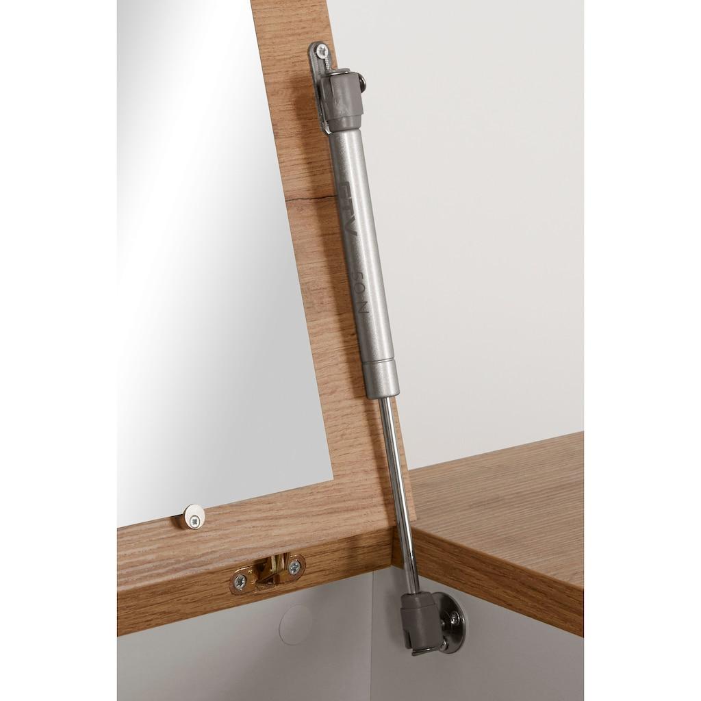 INOSIGN Schminktisch »Rula«, mit aufklappbarem Spiegel, Push-to-open-Funktion