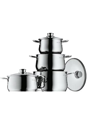 WMF Topf-Set »Diadem Plus«, Cromargan® Edelstahl Rostfrei 18/10, (Set, 8 tlg.), Induktion kaufen