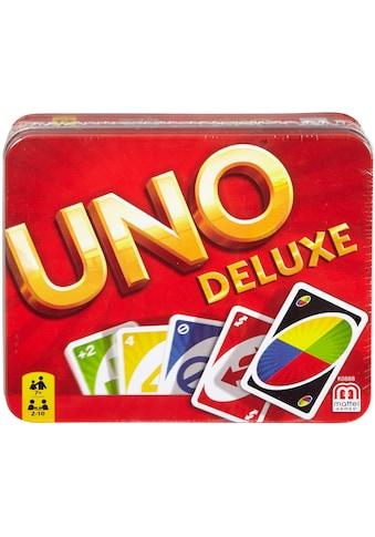 Mattel® Spiel »Mattel Games - UNO Deluxe in Metalldose« kaufen