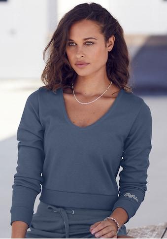 Buffalo Kapuzensweatshirt, kurze Form kaufen