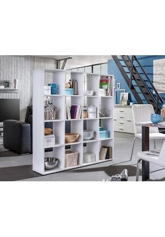 Wilmes Raumteilerregal »Kaba«, mit 16 Fächern kaufen