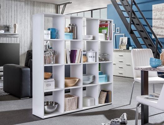 Raumteilerregal