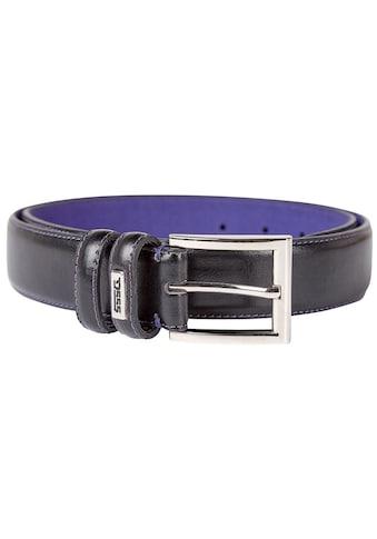 Duke Clothing Synthetikgürtel »Herren D555 Rodger Kingsize Lederfaserstoff Gürtel« kaufen