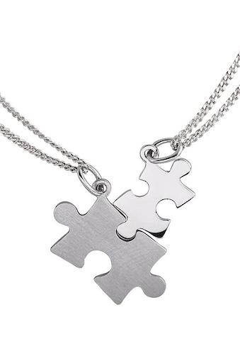 Firetti Kette und Anhänger Set »Partner-Puzzle« kaufen