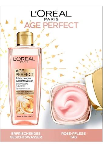 L'ORÉAL PARIS Gesichtspflege-Set »Age Perfect Golden Age«, (2 tlg.), mit Gesichtswasser und Tagespflege kaufen