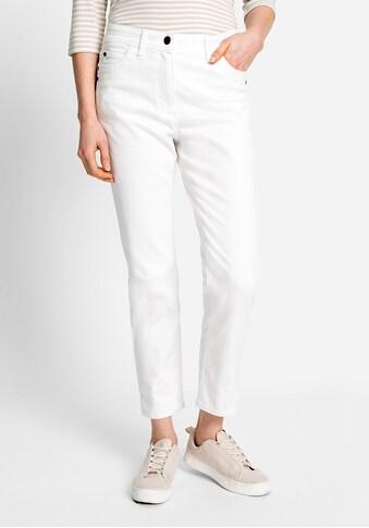 Olsen Slim-fit-Jeans, mit kleinen Seitenschlitzen am Saum kaufen