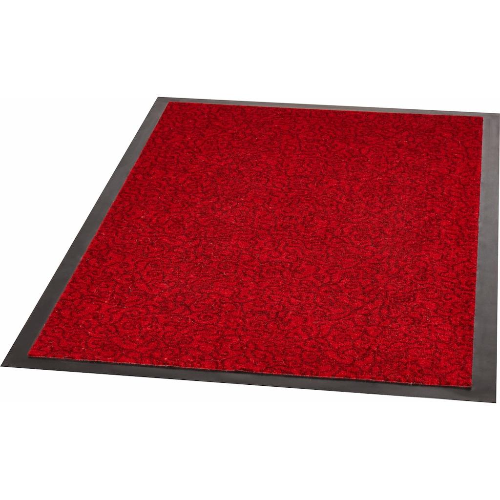 Zala Living Fußmatte »Smart«, rechteckig, 7 mm Höhe, Fussabstreifer, Fussabtreter, Schmutzfangläufer, Schmutzfangmatte, Schmutzfangteppich, Schmutzmatte, Türmatte, Türvorleger, rutschhemmend beschichtet