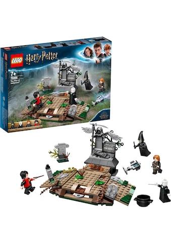 """LEGO® Konstruktionsspielsteine """"Der Aufstieg von Voldemort™ (75965), LEGO® Harry Potter"""", Kunststoff, (184 - tlg.) kaufen"""