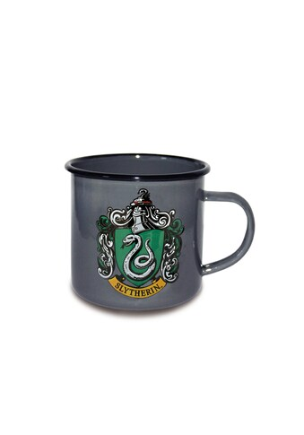 LOGOSHIRT Emaillebecher mit filigranem Slytherin - Wappen kaufen