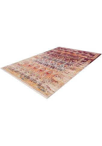 calo-deluxe Teppich »Rossa 501«, rechteckig, 5 mm Höhe, Vintage Optik, Wohnzimmer kaufen